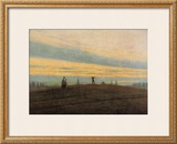 The Evening Star Framed Giclee Print by Caspar David Friedrich