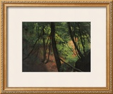 In the Middle of the Forest Framed Giclee Print by Gustav Klimt