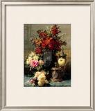 Summer Buffet I Print by Jean Baptiste Claude Robie