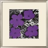 Flowers, c.1965 (Purple) Posters by Andy Warhol