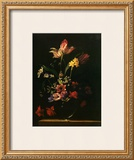 Bouquet de Fleurs Prints by Jean-michel Picart