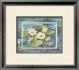 Flowers of Water Prints by Martina Reimann