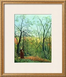 The Border of a Forest, c.1886 Prints by Henri Rousseau