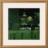 Schloss Kammer Am Attersee Prints by Gustav Klimt