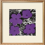Flowers, c.1965 (Purple) Prints by Andy Warhol
