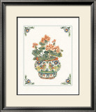 Geraniums Prints by Ann McEachron
