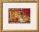 The Bougainvillea Covered House Posters by Liliane Fournier