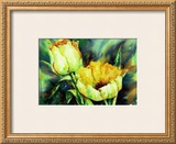 Yellow Tulips Prints by Hanneke Floor