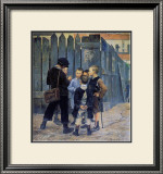 The Meeting Framed Giclee Print