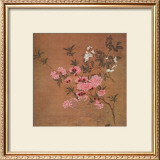 Cherry Blossoms and Wild Roses Art by Yun Shou-P'ing