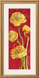 Ranuncoli in Rosso Posters by Giuseppina Tartagni