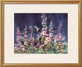The Enchanted Hummingbird Print by Jean-yves Guindon