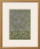 Garden Tapestry III Print by Eugene Grasset