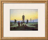 The Stages of Life Framed Giclee Print by Caspar David Friedrich