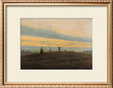 The Evening Star Framed Giclee Print by Caspar David Friedrich
