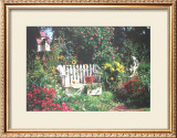 Secret Garden Limited Edition Framed Print by Harvey Edwards