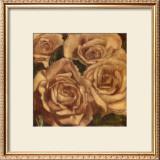 Rose Cluster II Print by Linda Hanly