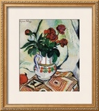 Bouquet de Roses Prints by Suzanne Valadon