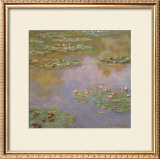 Water Lilies Posters by Claude Monet