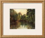 Secluded Pond Framed Giclee Print by Gustav Klimt