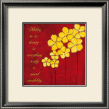 Yellow Daisies Art by Anne Courtland