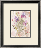 Irises Poster by Maxine Collins