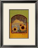 Three Sunflowers Art by Thomas LaDuke