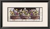 Window Pansies Poster by Mark Lee Goldberg