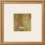 Country Garden with Sunflowers Prints by Gustav Klimt