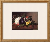 Still Life of Spring Flowers Prints by Johan Laurentz Jensen