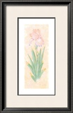 Iris Soliloquy I Print by Nancy Kaestner