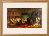 Le Cardinal Mazarin Mourant, 1830 Prints by Paul Delaroche