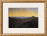 Riesengebirge Framed Giclee Print by Caspar David Friedrich