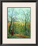The Border of a Forest, c.1886 Print by Henri Rousseau