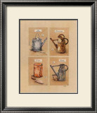 Collections d'Arrosoirs II Prints by Laurence David