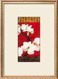 Asian Amaryllis II Print by Gabriel Scott