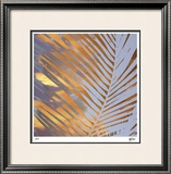 Sunset Palms II Limited Edition Framed Print by M.J. Lew