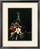 Bouquet de Fleur Devant un Vase de Chine, 1661 Poster by  Josepha