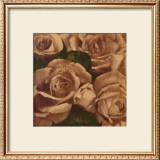 Rose Cluster I Prints by Linda Hanly