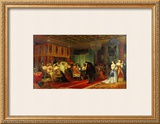 Le Cardinal Mazarin Mourant, 1830 Art by Paul Delaroche