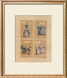 Collections d'Arrosoirs I Prints by Laurence David
