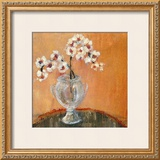 Copper Orchids I Art by Jennifer Hollack