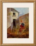 Im Hausgarten Garden Prints by Carl Spitzweg