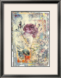 Abstract Roses III Posters by Michel Lafontaine