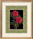 Embroidered Rose Print by Tan Chun