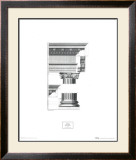 Doric Order Prints by Abraham Swan