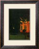 La Maison Rose, c.1892 Posters by William Degouve De Nuncques