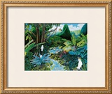 Iao Valley Framed Giclee Print by Ari Vanderschoot