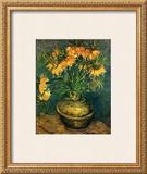 Fritillaires dans un Vase de Cuivre, c.1886 Prints by Vincent van Gogh