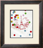 Paris Confettis Poster by Danielle Coquille